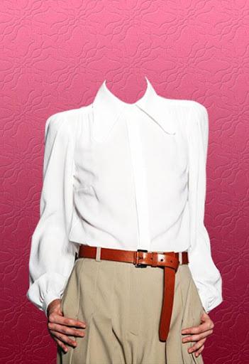 Woman Suit Photo Montage
