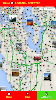 Screenshot of Route Navigation
