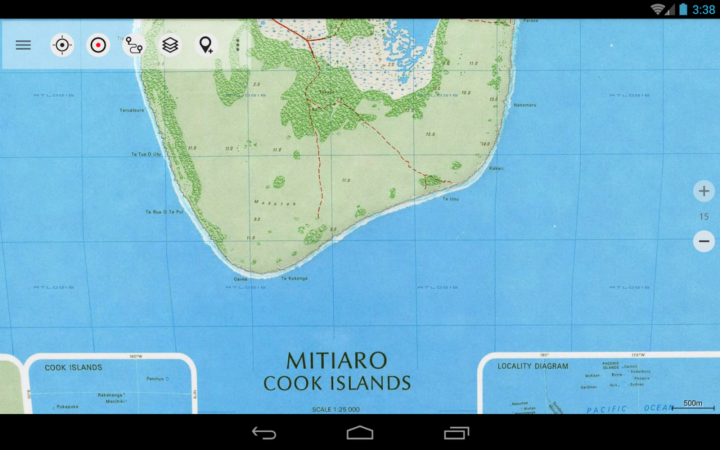 New Zealand Topo Maps Pro - screenshot