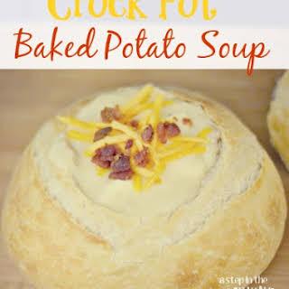 Crock Pot Baked Potato Soup.