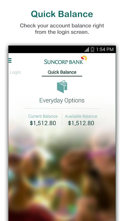 Suncorp Bank - screenshot