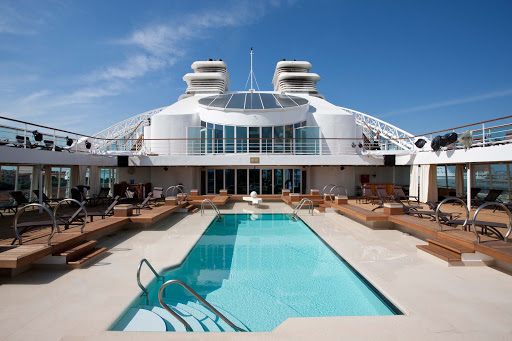 Seabourn_Odyssey_Sojourn_Quest_Pool_Deck_2-2 - Lounge in the sun or swim laps on the pool deck of Seabourn Quest.