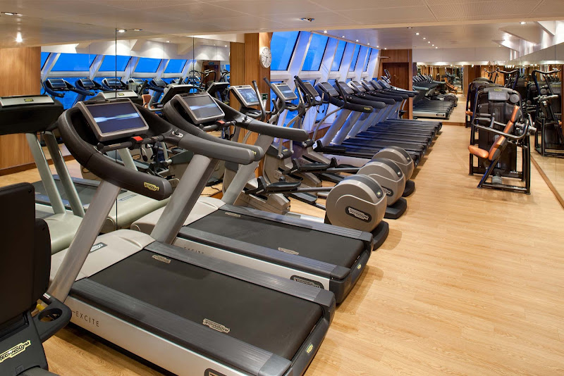 Keep in shape with the Kinesis System at the full-service Fitness Center on your Seabourn sailing.