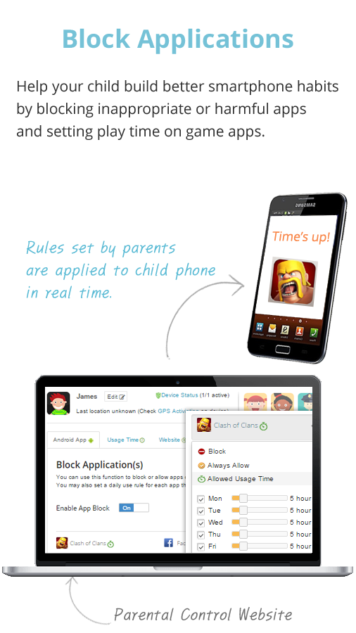Mobile Fence Parental Control- screenshot