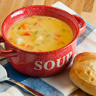 Vegetable Cheese Soup.