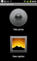 Screenshot of Auto Photo Captioner