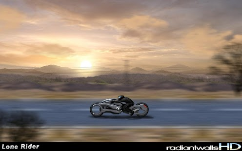 RadiantWalls HD - Lone Rider - screenshot thumbnail