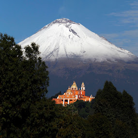 Volcano by Alfredo Garciaferro Macchia - Landscapes Mountains & Hills