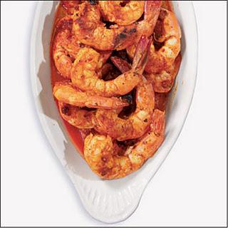 Doe's Broiled Shrimp.