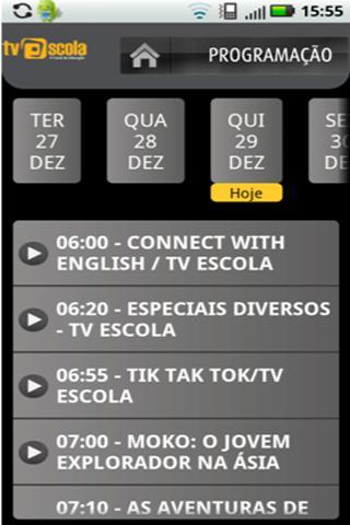 Tv Escola - screenshot