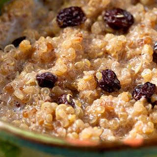 Spiced Breakfast Quinoa.