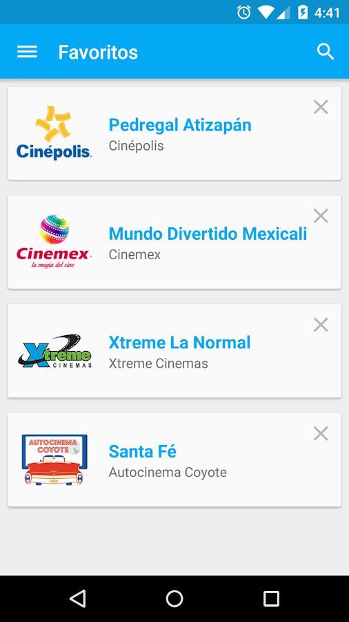 Cine Mapp (Carteleras)- screenshot