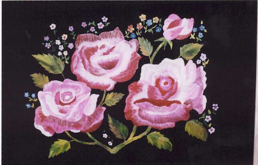 Nib Painting-Beautiful Rose Flowers