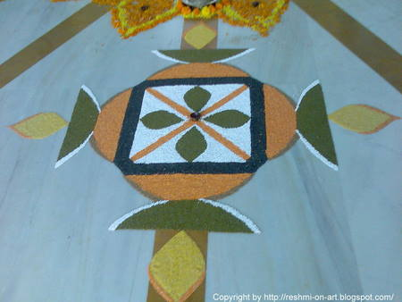 Rice-Grains-Rangoli