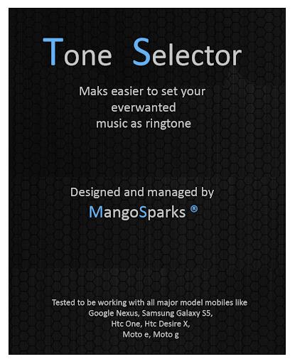 Tone Selector Ringtone Alarm