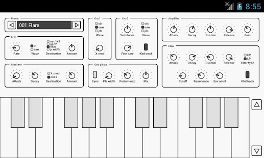 Common Analog Synthesizer - screenshot thumbnail