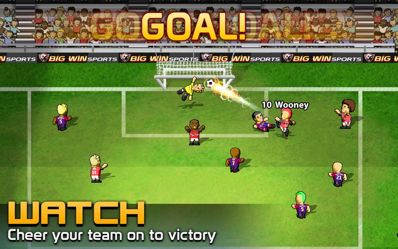 BIG WIN Soccer (football) screenshot #8