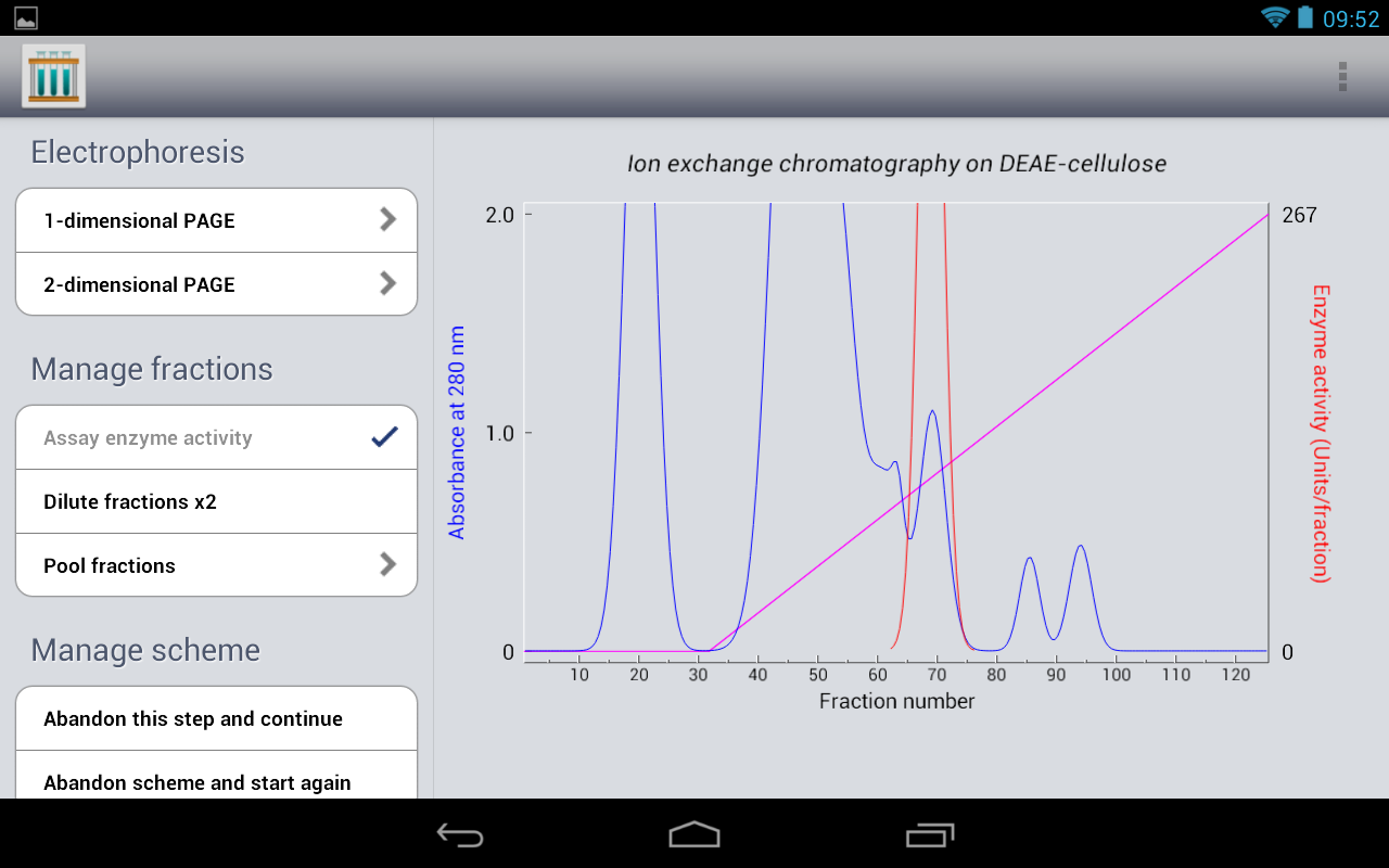 Protein Purification - Tablet- screenshot