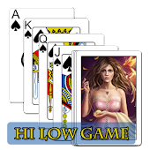 Hi Low Game | Card Game