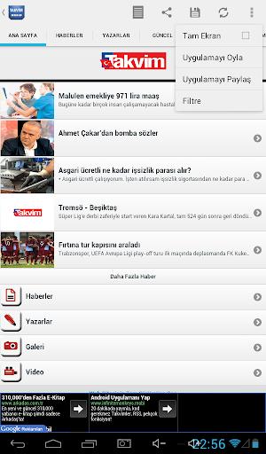 免費下載新聞APP|Takvim Gazetesi Droid app開箱文|APP開箱王