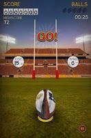 Screenshot of Flick Kick Rugby
