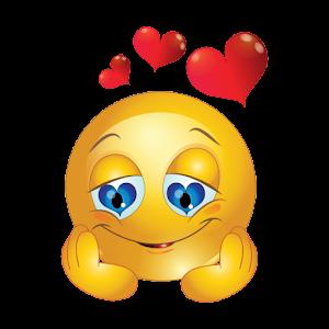 Bilderesultat for love smiley