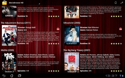 MovieBrowser HD Screenshot 2