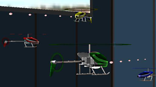インドア ヘリ ファイト 3D Free