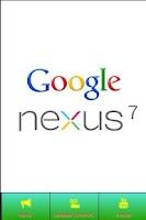 Screenshot of Nexus 7 News