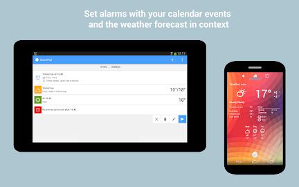 AlarmPad - Alarm Clock Free Screenshot 9