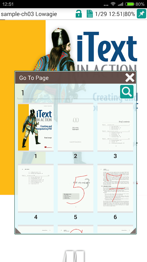 PRO PDF Reader- screenshot