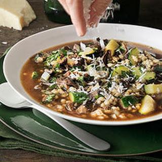 Porcini-Barley Soup