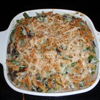 Absolutely Delicious Green Bean Casserole from Scratch.