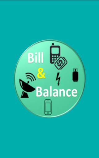 Bill And Balance
