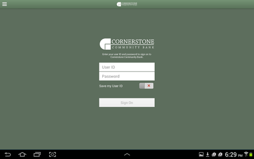 Cornerstone Tablet