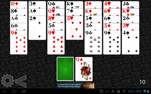 Golf Solitaire HD- screenshot thumbnail