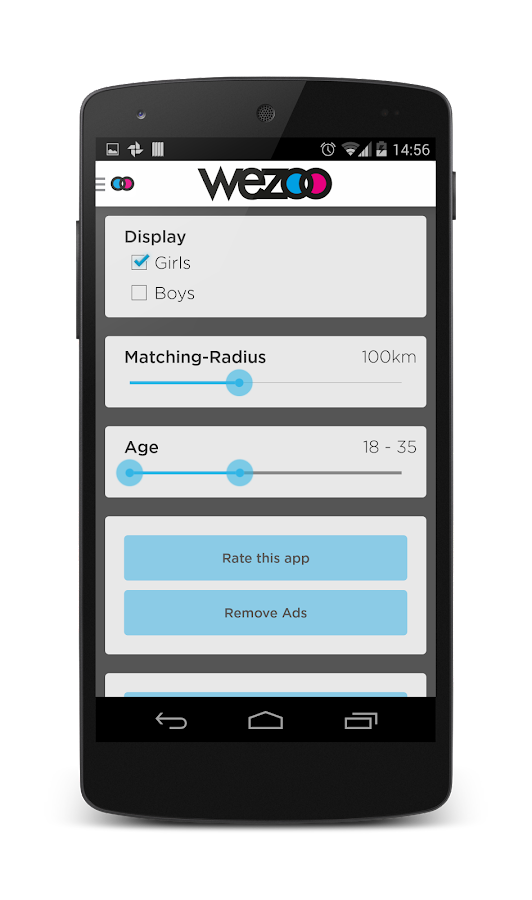 Wezoo - Chat, Flirt, Dating - screenshot