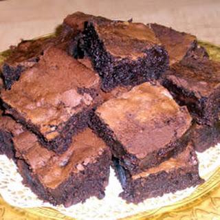 Grand Marnier Brownies.