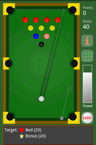 Crazy Billiards