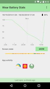 Wear Battery Stats Screenshot 2