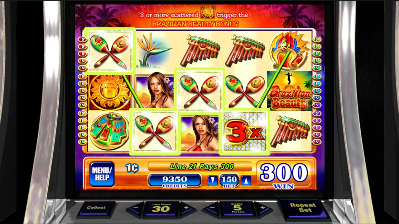 brazilian beauty slot machine online