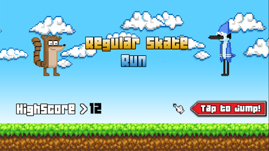 Regular Skate Run