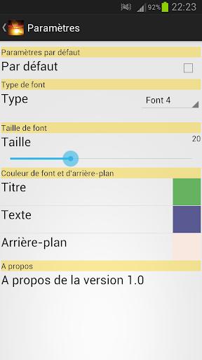 【免費書籍App】Signes mineurs de l'Heure-APP點子