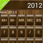 SCalc Wood Theme