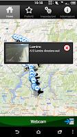 Screenshot of Viabilità Ticino