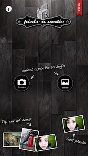 Pixlr-o-matic - screenshot thumbnail