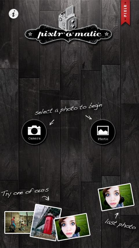 Pixlr-o-matic screenshot #2