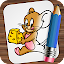 Download Android Game Drawing Cartoons Heroes for Samsung