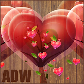 Fabulous Hearts Theme for ADW