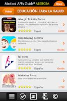 Screenshot of MAG Alergia